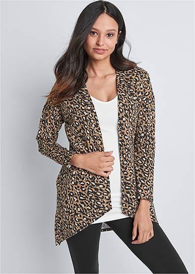 Leopard Lounge Cardigan