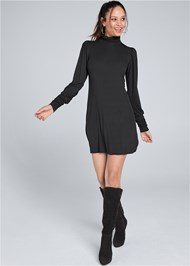 Alternate View Turtleneck Dress