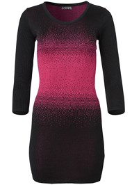 Alternate View Ombre Sweater Dress