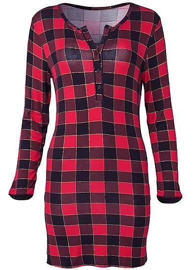 Plus Size Short Sleepshirt
