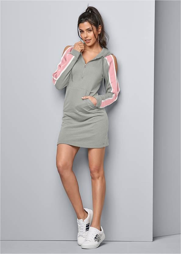 Alternate View Stripe Lounge Dress