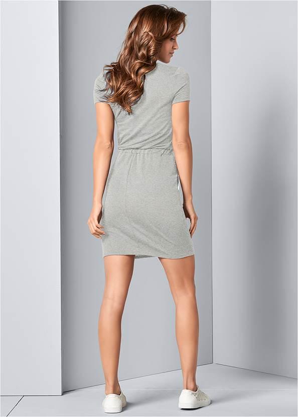 Alternate View Zip Front Lounge Dress