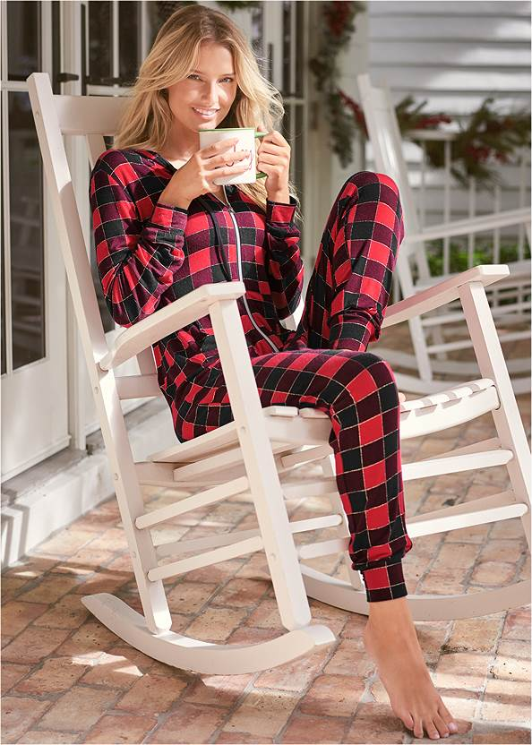 Cropped front view Sleep Onesie
