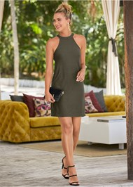 Alternate View Casual A-Line Dress