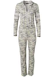Alternate View Stripe Lounge Jumpsuit