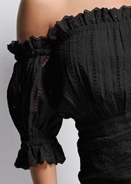 Alternate View Off Shoulder Eyelet Dress