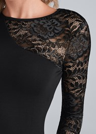Alternate View Long Sleeve Lace Top