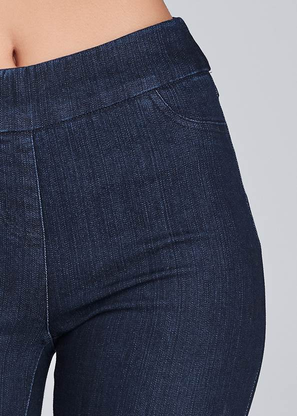 Detail view Mid Rise Slimming Stretch Jeggings