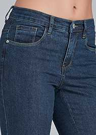 Alternate view Lace Up Detail Jeans