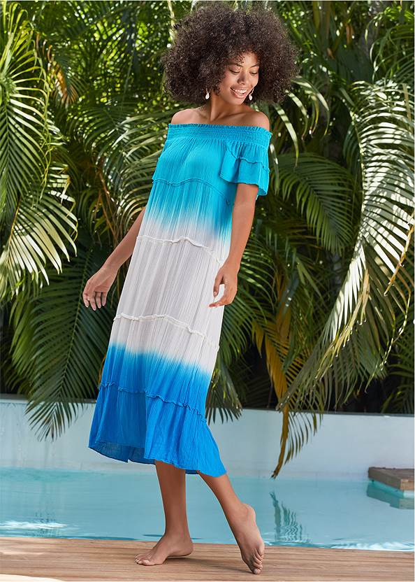 Off-The-Shoulder Cover-Up