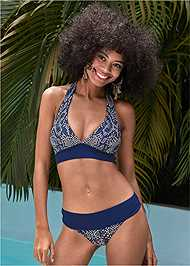 Front View Perfect Fit Halter Top