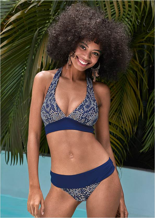 Perfect Fit Halter Top,The Getaway Bottom