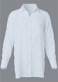 Alternate View Button Cover-Up Shirt