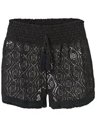 Alternate View Sheer Cover-Up Shorts