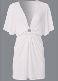 Alternate View Ring Front Dolman Cover-Up