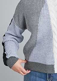 Alternate View Color Blocked Sweater