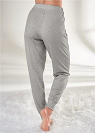 Waist down back view Sleep Joggers