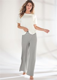 Full Front View Palazzo Sleep Pant