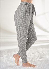 Waist down side view Sleep Joggers
