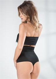 Back View 2 Pk High Waisted Thong