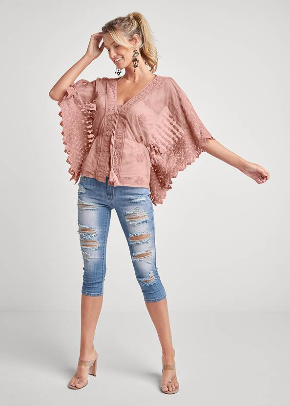 Alternate View Lace Top