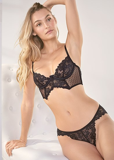 Unlined Bra And Panty Set