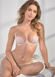 Cropped front view Convertible Contour Bra
