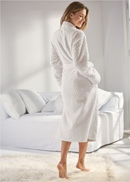 Back View Cozy Sleep Robe