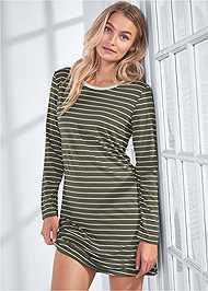Cropped front view Sleep Dress