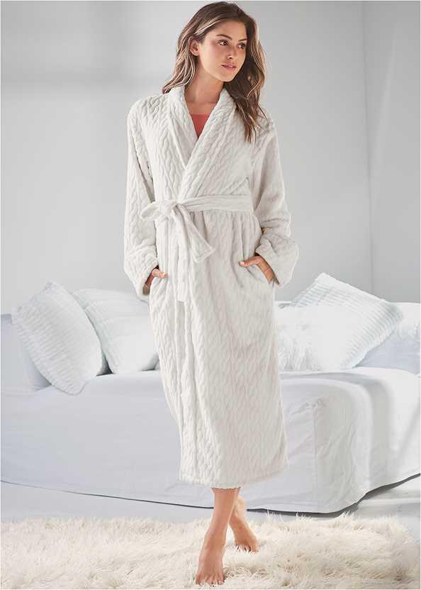 Cozy Sleep Robe,Short Set