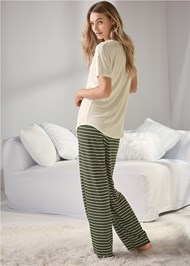 Back View Sleep Pant Set