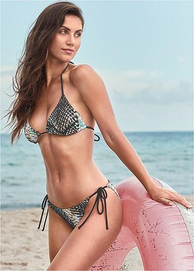 Triangle String Bikini Top