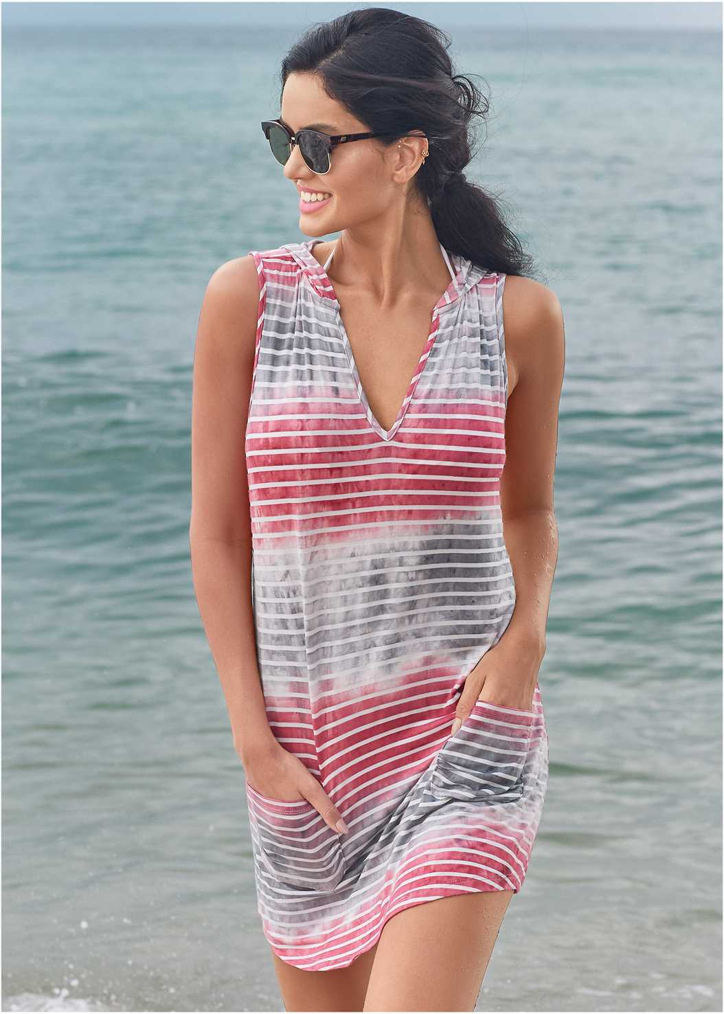 Hooded Pocket Cover-Up