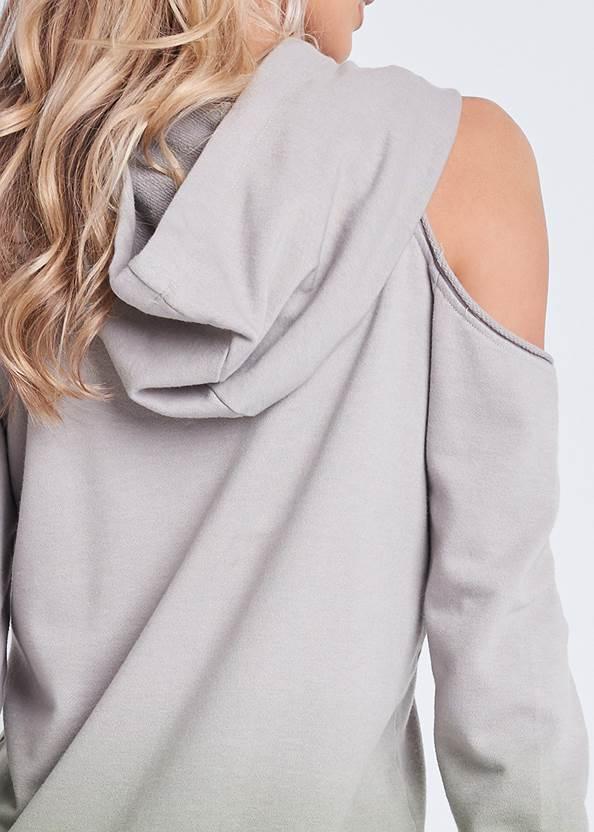 Alternate View Cold Shoulder Lounge Dress