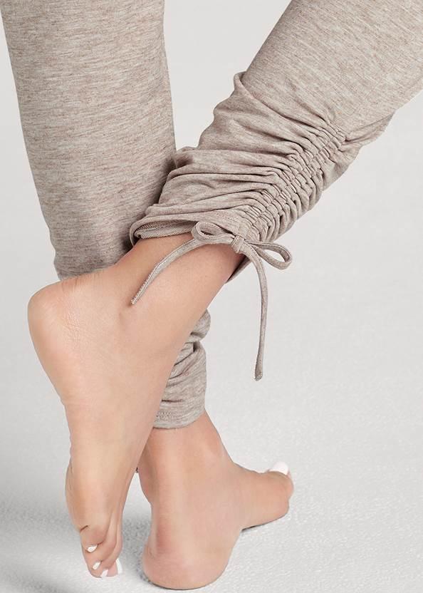 Alternate View Cozy Drawstring Tie Joggers
