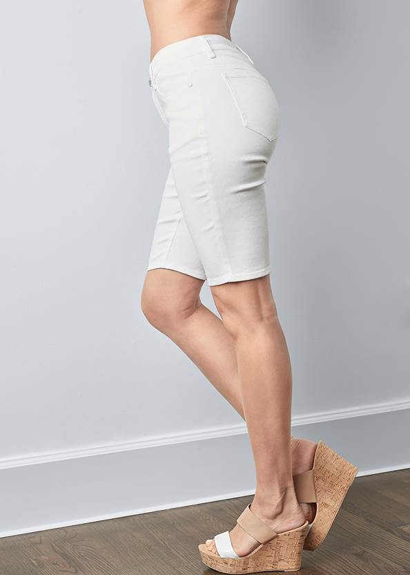 Alternate View Jean Bermuda Shorts