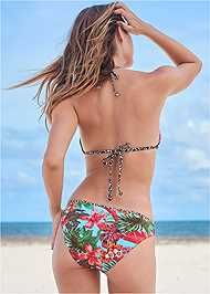 Back View Beaded Triangle Top