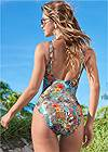 Cropped back view Bali One-Piece