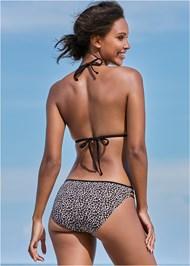 Back View Strappy Side Bikini Bottom