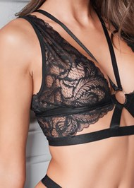 Alternate View Lace Bralette And Thong Set