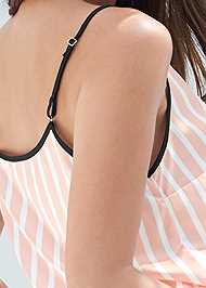 Detail back view Satin Sleep Set