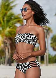 Full front view Strappy Bandeau Top