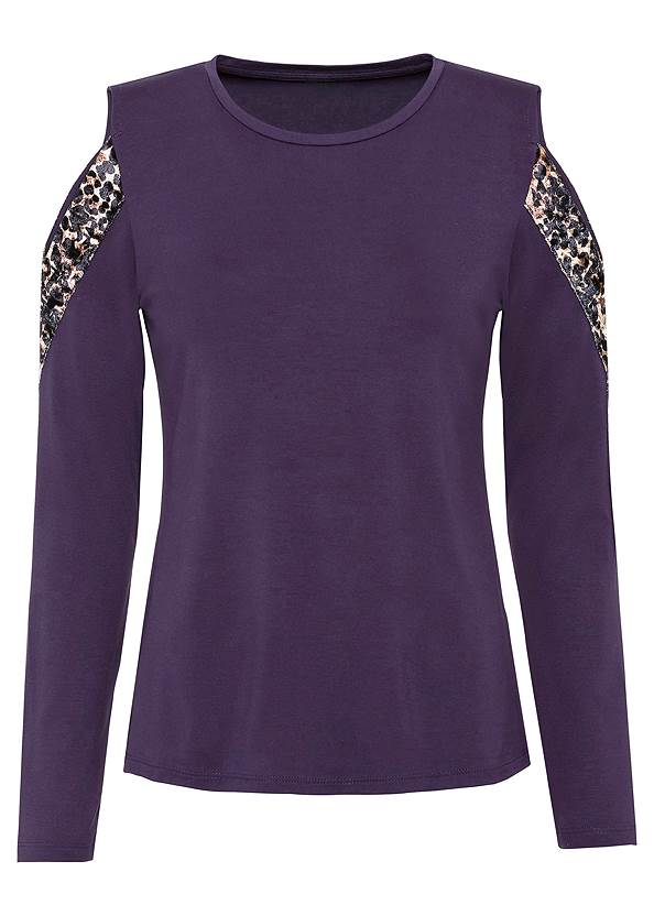 Ghost front view Leopard Detail Top