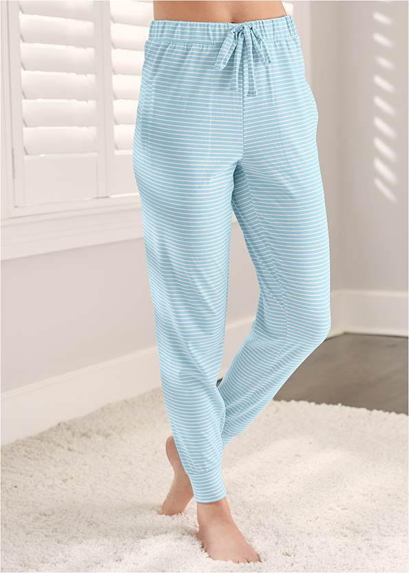 Cropped Front View Sleep Joggers