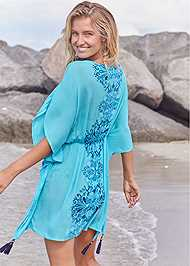 Back View Tassel Detail Cover-Up