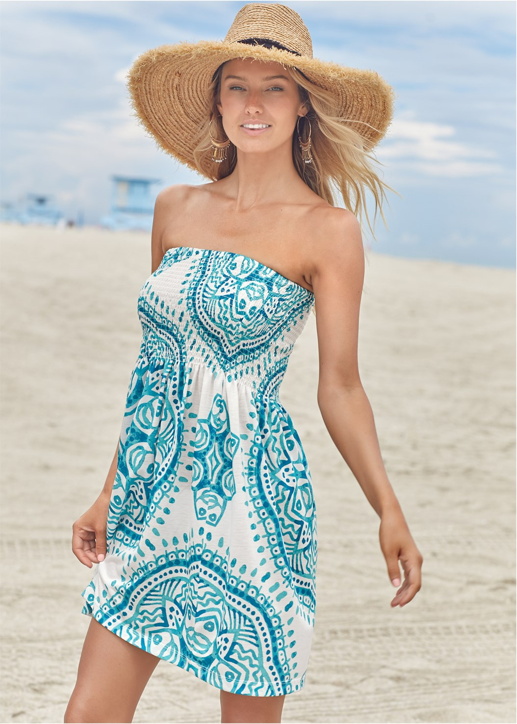 Convertible Dress/Skirt,Marilyn Underwire Push Up Halter Top