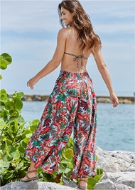 Back View Cover-Up Pants