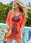 Front View Tassel Detail Cover-Up