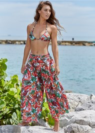 Front View Cover-Up Pants