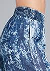 Detail side view Tie Dye Chambray Pants